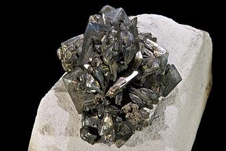 Marcasite - Marcasite with tarnish (8x6 cm)