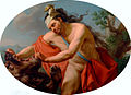 Marcello Bacciarelli - Hercules and the Nemean Lion, 1776-77.jpg