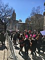 March for Our Lives 24 March 2018 in NYC, Central Park West, near 77th Street, AMNH, Manhattan.jpg