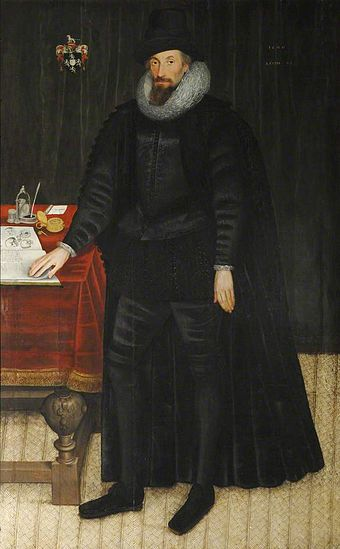 Sir William Paddy, Thetford Marcus Gheeraerts (II) Sir William Paddy.jpg