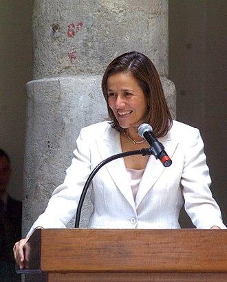 First Lady of Mexico - Margarita Zavala portrait
