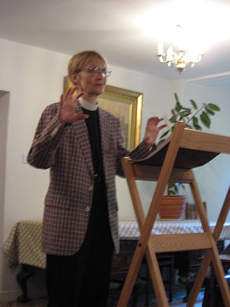 Marilyn McCord Adams - Marilyn McCord Adams speaking in 2007