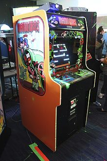 Mario Bros. cabinet at PAX East 2014.jpg