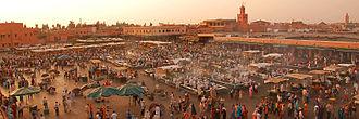 Jemaa el-Fnaa - Image: Marrakech banner