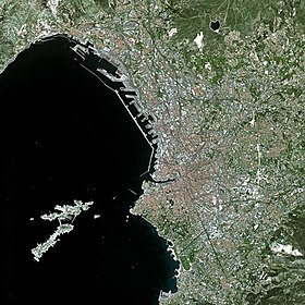 Voir la carte administrative de Marseille (satellite)