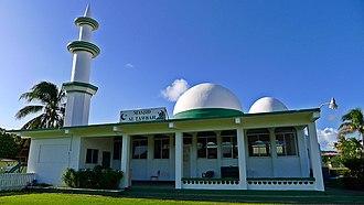 Islam in Trinidad and Tobago - Masjid al Tawbah in Lowlands, Tobago
