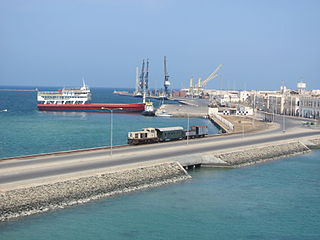 Massawa City in Semienawi Keyih Bahri Region, Eritrea