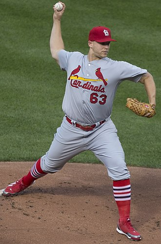 Justin Masterson - Masterson with the St. Louis Cardinals