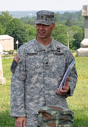 Douglas V. Mastriano - Colonel Mastriano at Gettysburg Battlefield, Pennsylvania in 2014