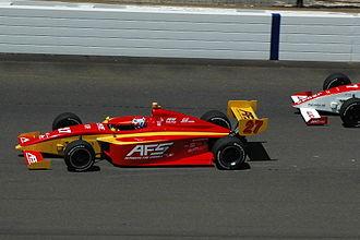 Raphael Matos - Matos driving in the 2008 Firestone Freedom 100