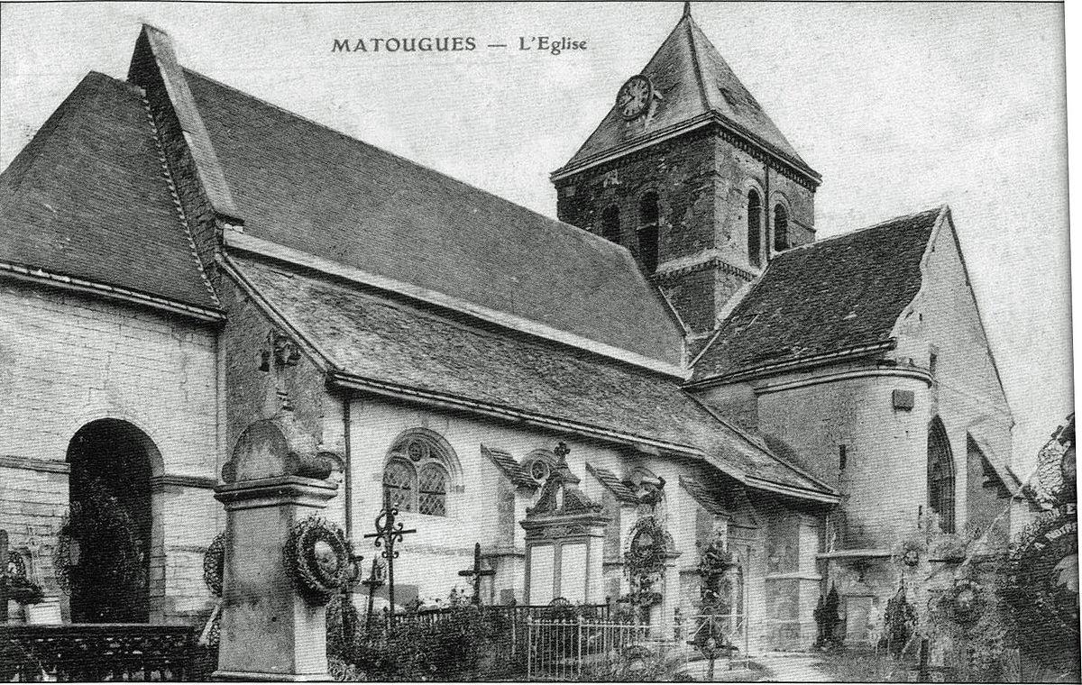 Glise saint georges de matougues wikidata for Matougues 51
