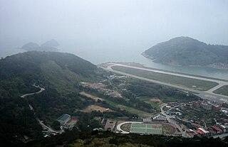 Beigan Airport Public airport on Beigan Island, Fukien Province, Taiwan
