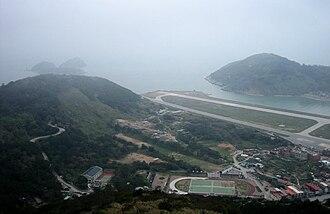 Beigan, Lienchiang - Beigan Township view from Bishen Hill