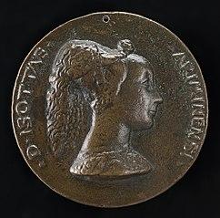 Isotta degli Atti, 1432/1433-1474, Mistress 1446, then Wife after 1453, of Sigismondo Malatesta [obverse]
