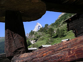 Matterhorn seen through alpine cottage.jpg