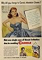 Maureen O'Hara - Why did you change to Camels, 1952.jpg