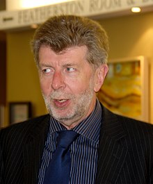 Maurice Williamson at the NZ Open Source Awards, 2007.jpg
