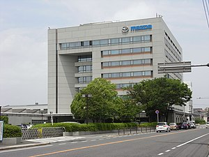 Mazda - Mazda's headquarters in Fuchū, Hiroshima