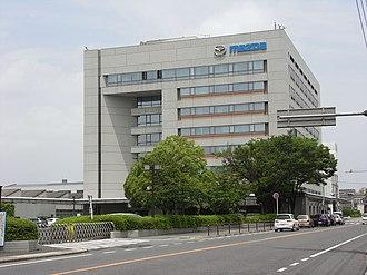 Mazda - Mazda's headquarters in Fuchū, Hiroshima