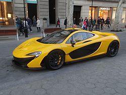 Ford Electric Car >> McLaren Automotive - Wikipedia