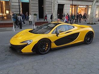 McLaren Automotive - McLaren P1