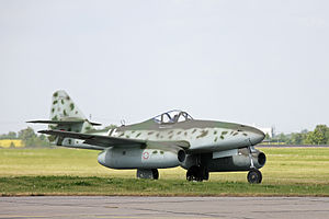 Me 262 at ILA 2006 about to start.jpg