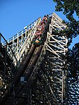 Mean Streak passing by the entrance.jpg