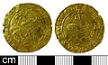 Medieval coin, Angel of Henry VIII (FindID 651694).jpg