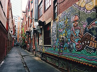 Lanes and arcades of Melbourne