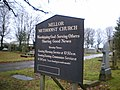 Mellor Methodist Church, Sign - geograph.org.uk - 1074426.jpg