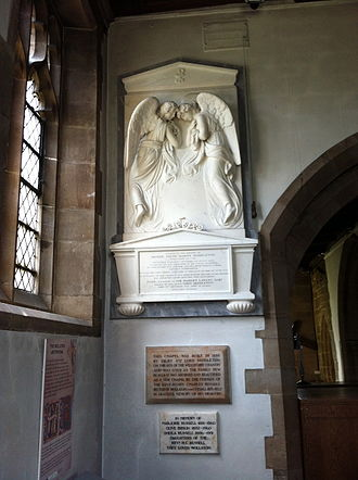 Henry Willoughby, 6th Baron Middleton - The memorial in St. Leonard's Church, Wollaton to Henry, 6th Baron Middleton