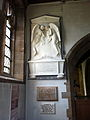 Memorial in St Leonard's Church, Wollaton 01.jpg