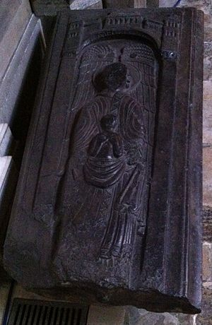 Nigel (bishop of Ely) - Image: Memorial to Bishop Nigel in Ely Cathedral