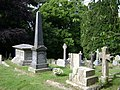 Memorials, Dawlish Cemetery - geograph.org.uk - 1359627.jpg