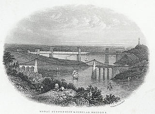 Menai suspension & tubular bridges