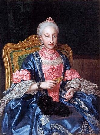 Infanta Maria Josefa of Spain - Image: Mengs Infanta Maria Josefa