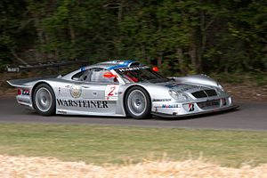 1998 FIA GT Championship - Klaus Ludwig and Ricardo Zonta won the GT1 Drivers Championship with Mercedes-Benz CLK-GTR and Mercedes-Benz CLK-LM (pictured)