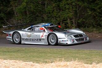 Mercedes-Benz CLK GTR - Mercedes-Benz CLK LM