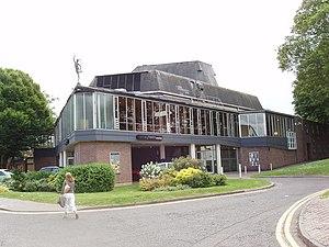 Mercury Theatre, Colchester - The Mercury Theatre from the Roman Wall