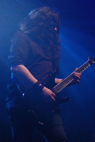 Hamish Glencross - Image: Metalmania 2007 My Dying Bride Hamish Glencros 001
