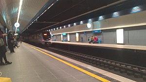 Anoeta Stadium - Anoeta Metro Donostialdea station.