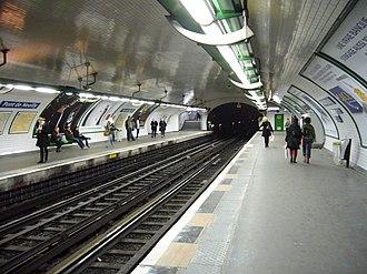 Pont de Neuilly (Paris Métro) - Image: Metro Paris Ligne 1 Pont de Neuilly (5)