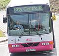 Metro bus, Belfast, June 2010 (04) crop.jpg