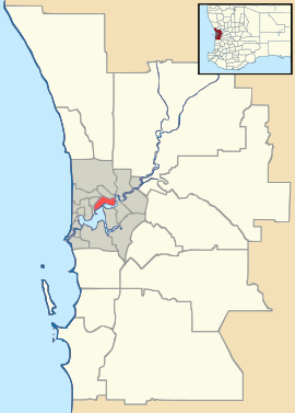 Mindarie is located in Perth