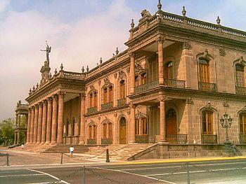 Mexico-nuevo-leon-monterrey-palacio-de-gobierno
