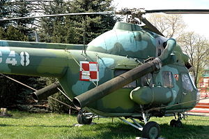 Mil Mi-2 - Mi-2Ch exhibited in Polish Aviation Museum