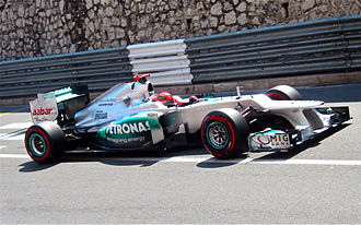 Mercedes AMG High Performance Powertrains - Image: Michael Schumacher pole lap monaco 2012