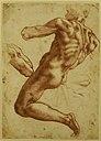 Michelangelo - Study of an Ignudo.jpg