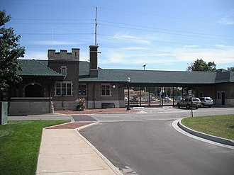 Dowagiac, Michigan - The historic Dowagiac Station on Depot Drive