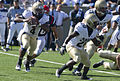 Midshipmen on offense at Navy at Air Force 2010-10-02 4.JPG